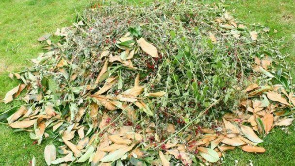 Otvorený zberný dvor na zelený odpad