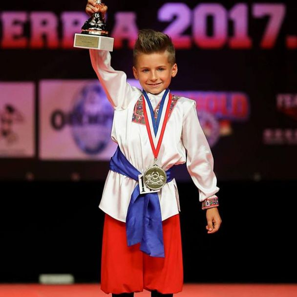 Michal Müllner - Majster sveta v športe Fitness detí
