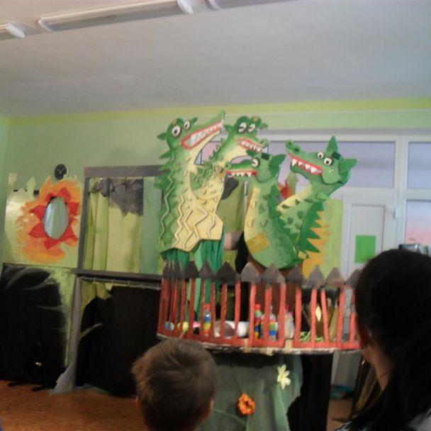 Bábkové divadlo v MŠ