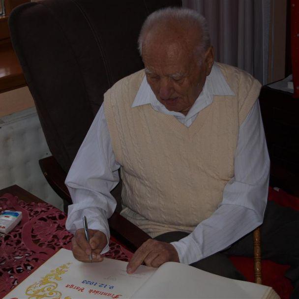 90. ročný jubilant