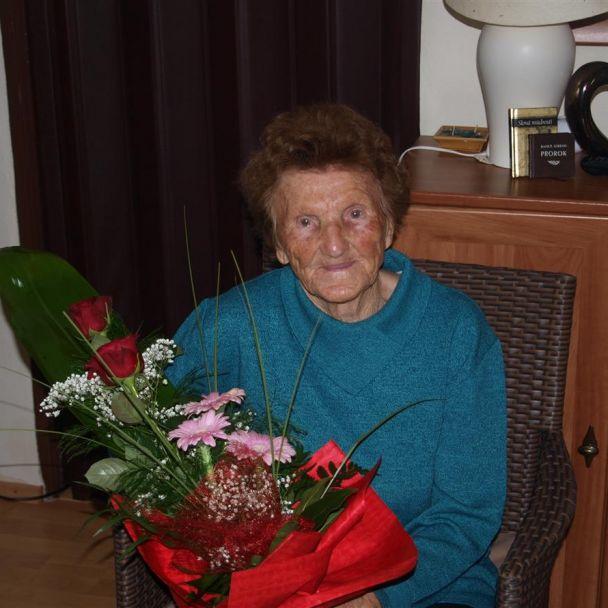 90. ročná jubilantka