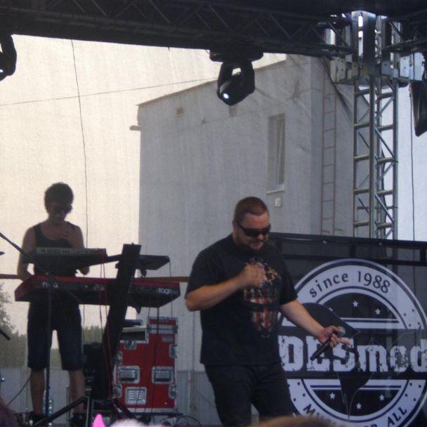 Vystúpenie skupiny DESMOD