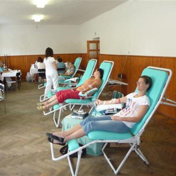Odber krvi 9.6.2012