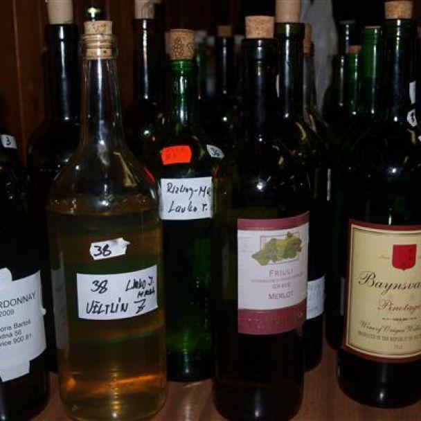 Ochutnávka vín u záhradkárov