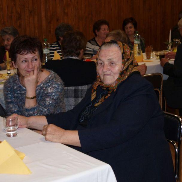 Posedenie 70. a 80. ročných jubilantov