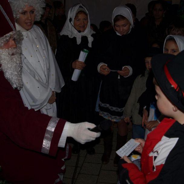Mikuláš v obci 5.12.2015