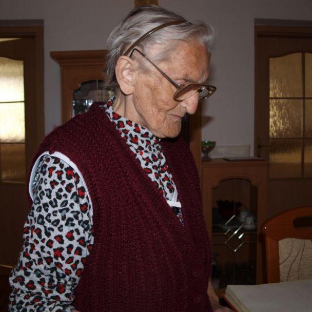 Jubilantka Helena Kollárová, Andač - 90 rokov