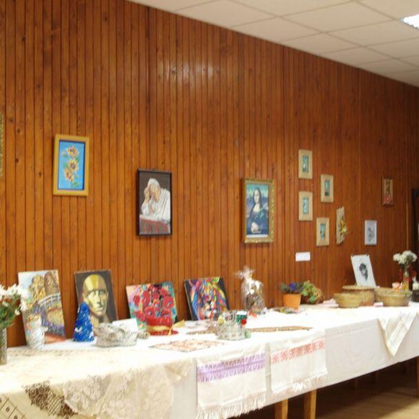 ZO ZZP - Výstava umeleckých prác a huspeninová párty