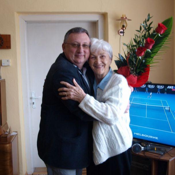 Anna Škoricová - 90. ročná jubilantka