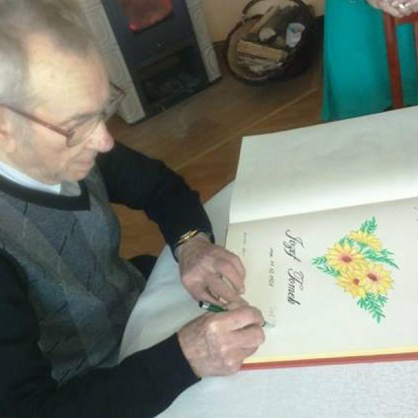 Jozef Tomek - 90. ročný jubilant