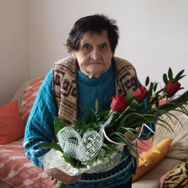 Helena Žemberová 90. ročná jubilantka