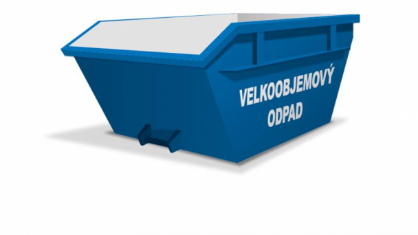 Premiestnenie kontajnera na veľkoobjemný odpad