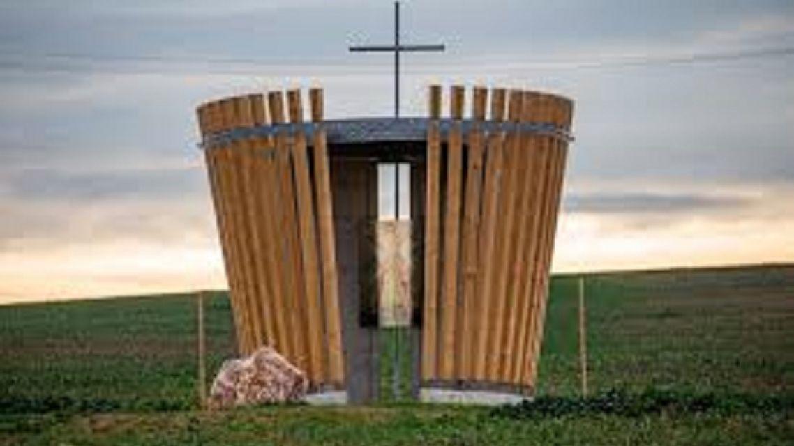 Požehnanie kaplnky sv.Urbana v našej obci