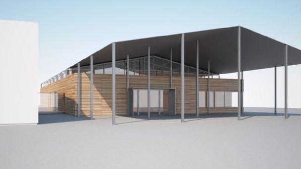 Komunitné centrum(rekonštrukcia haly na futbalovom ihrisku)